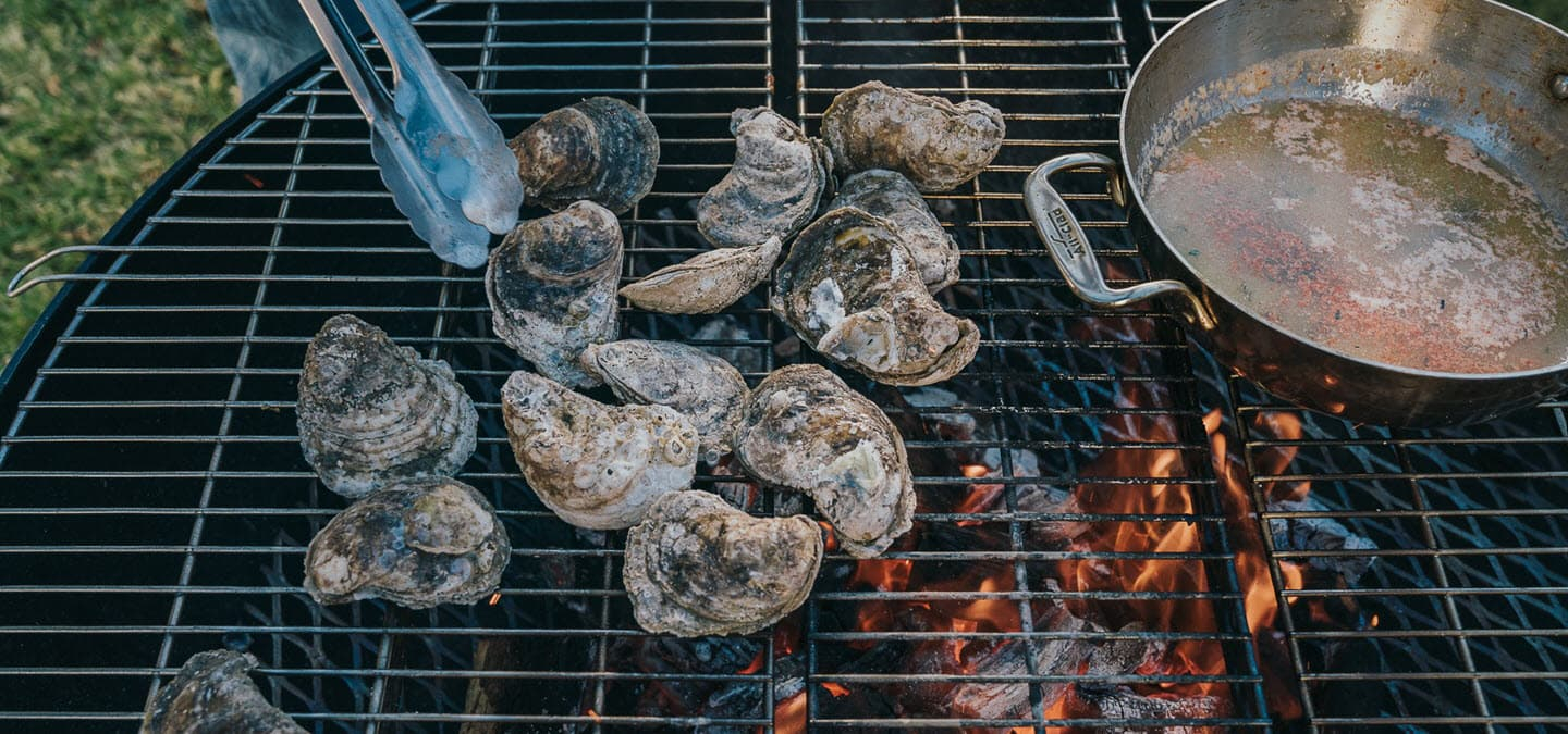 How to Grill Oysters
