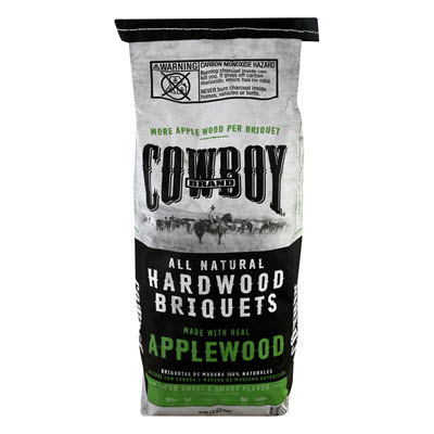 Cowboy®  All Natural Apple Hardwood Briquets