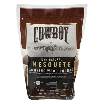 Cowboy® Mesquite Smoking Wood Chunks