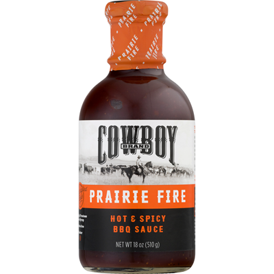 Cowboy® Prairie Fire Hot & Spicy BBQ Sauce