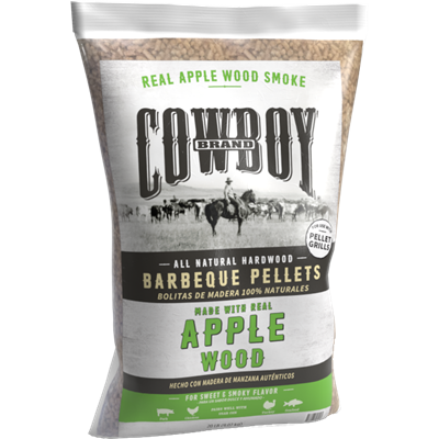 Cowboy® Apple Barbeque Pellets
