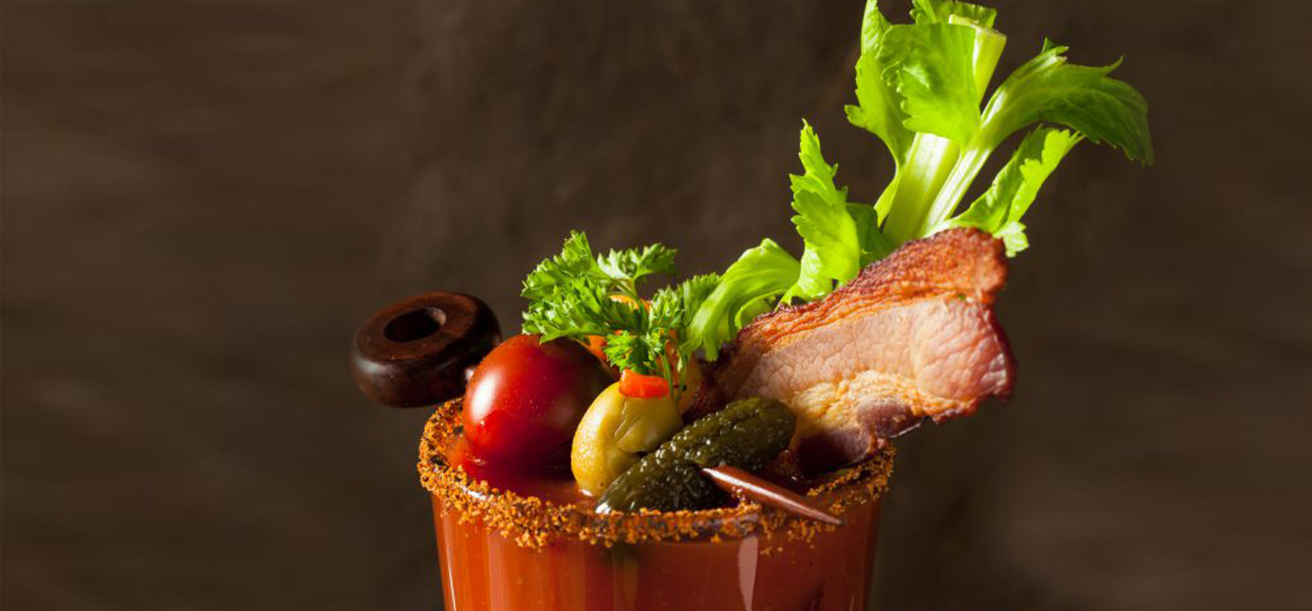 Cowboy's Grilled Game Day Bacon Bloody Mary