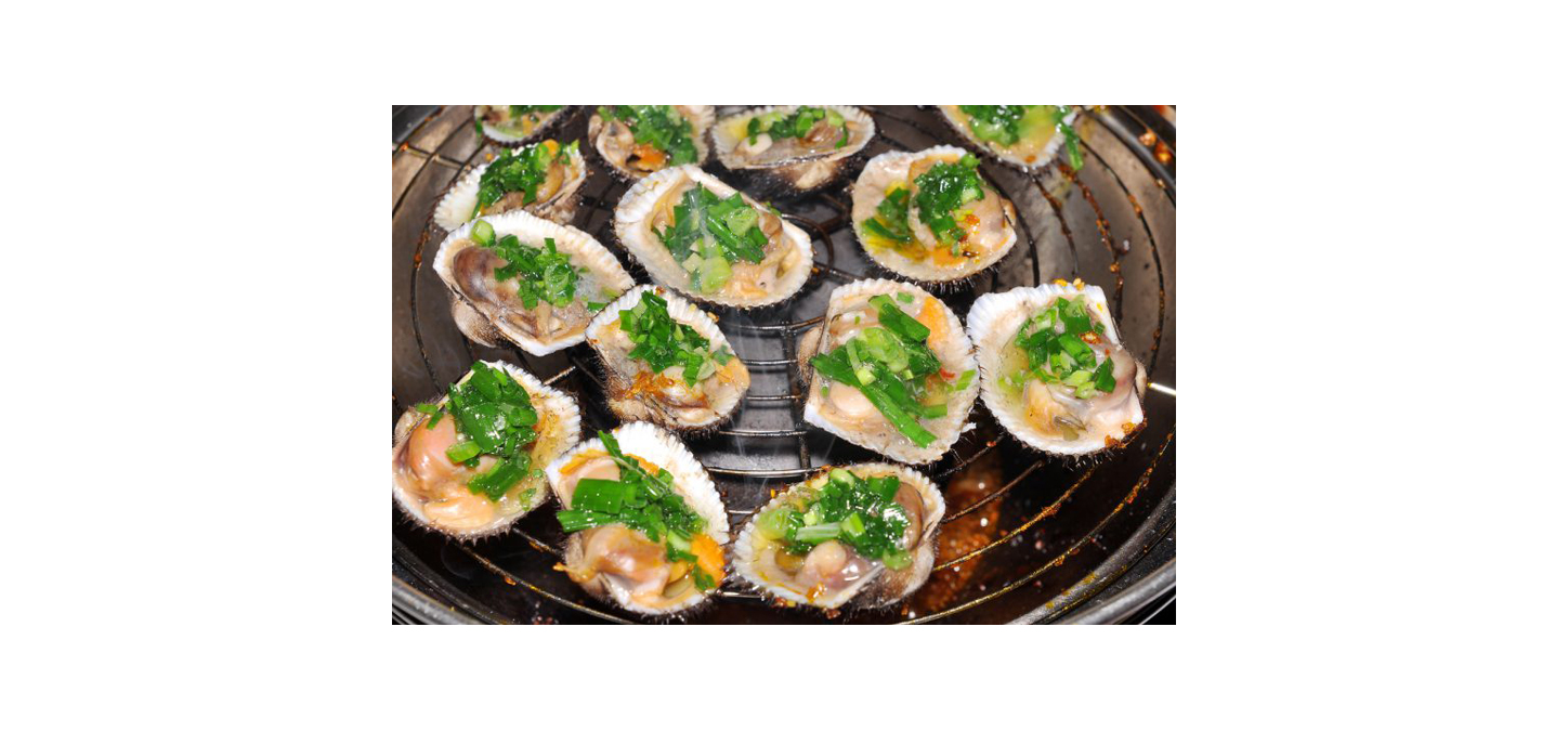 Grilled Clams with Lemon-Shallot Butter