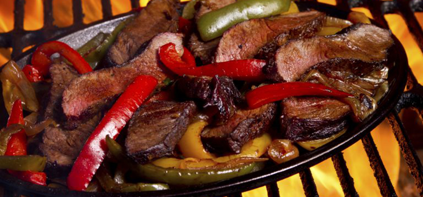 Cowboy's Grilled Steak Fajitas