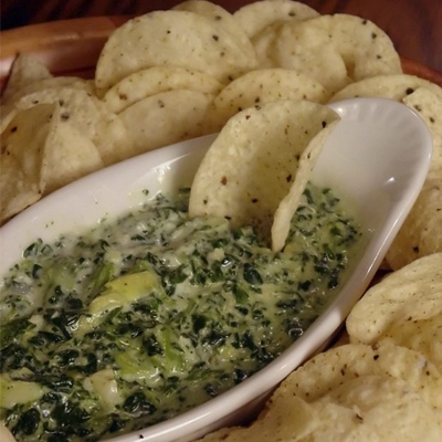 Cowboy's Grilled Spinach and Artichoke Dip