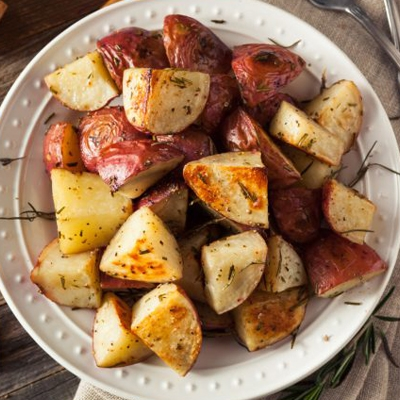 Rosemary Potatoes with Garlic Aioli Dipping Sauce