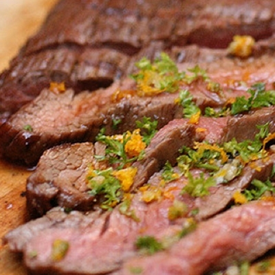 Tequila Lime Flank Steaks